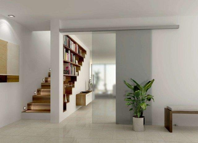 Cloison coulissante en verre ou bois pour la maison moderne Archi - mettre des portes coulissantes