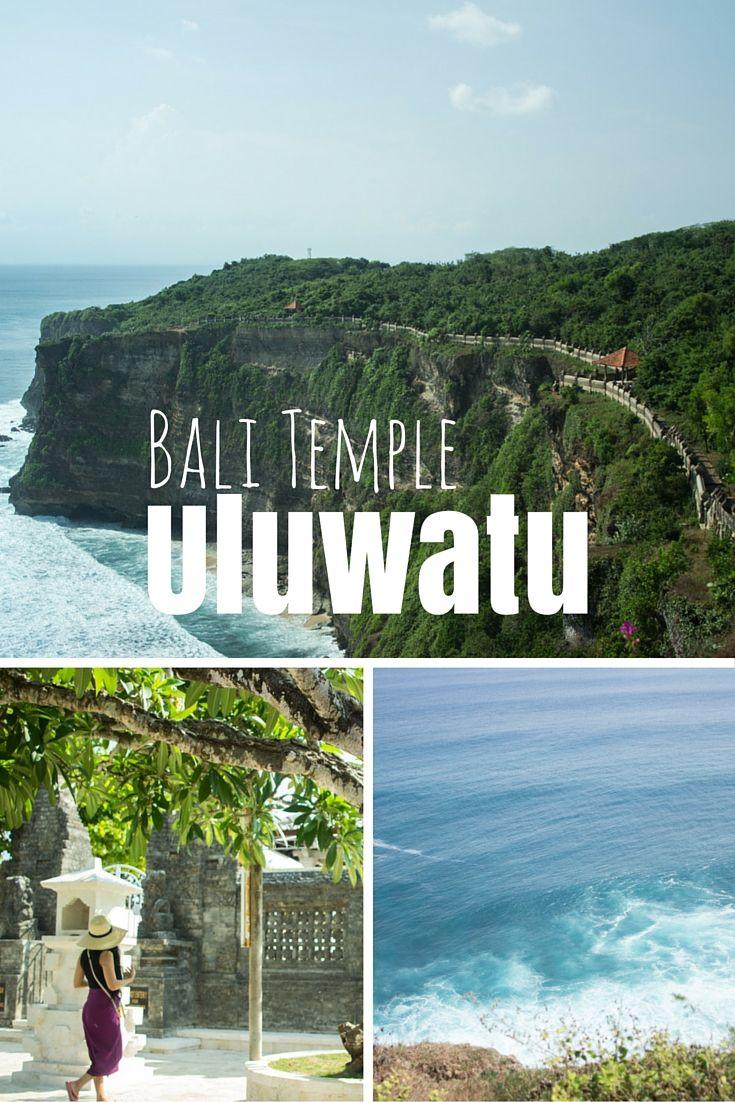 Uluwatu liegt im Süden Balis. Der Hinduistische Tempel ist einer der wichtigsten der Insel. Doch nicht nur das macht ihn zu einem interessanten Ausflugsziel, auch die Lage: Denn Die Anlage wurde auf einer 100 Meter hohen Klippe gebaut. #reisen #bali