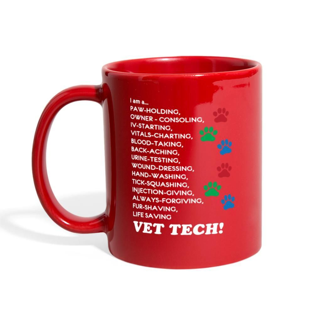 Vet tech im a full color mug vet tech mugs vet