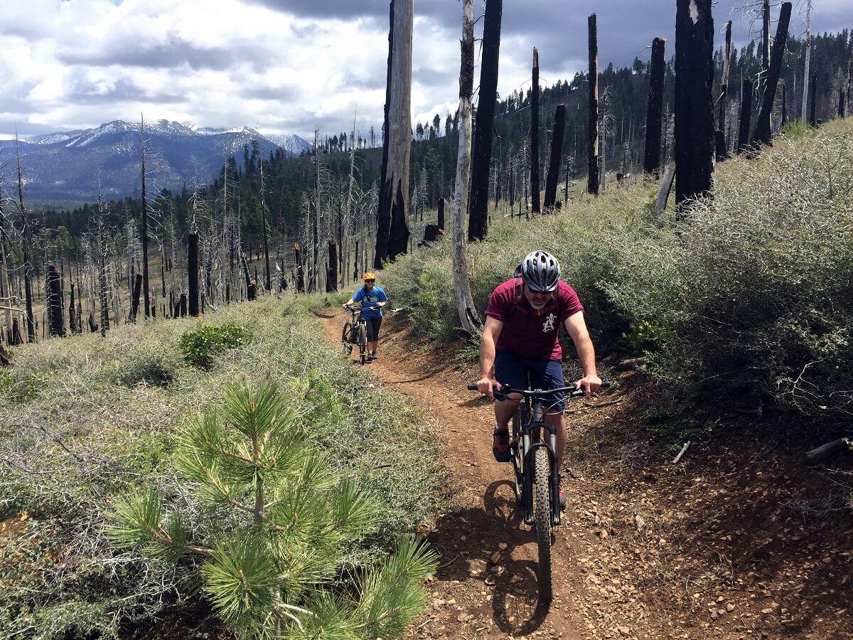 Tahoe Mountain Loop will take you for a fun and wild ride. #LakeTahoe Mountain Biking guide.    #mountainbiking #mtblaketahoe #laketahoemtb #mountainlife #biking #cycling
