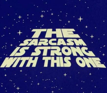May the force be with you.....