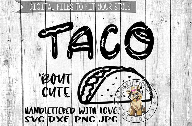 Download Taco Bundle | Cricut, Tacos, Silhouette design