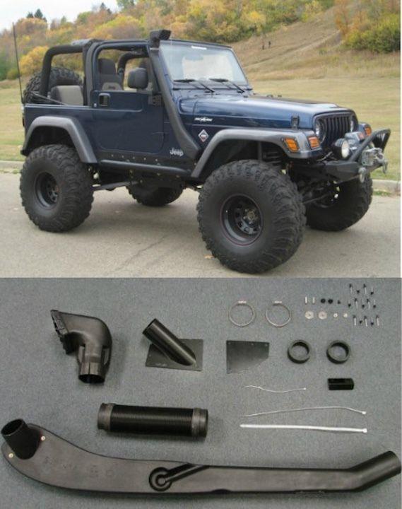 1999 2006 Jeep Wrangler Tj Yj Air Intake Snorkel Kit System New
