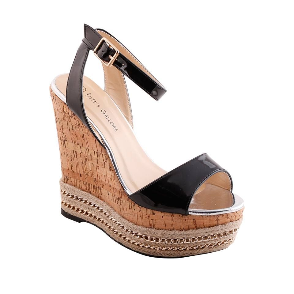 7037a23e4176 58 Absolutely Cool Wedge Heel Varieties to Sport This Spring Season ...