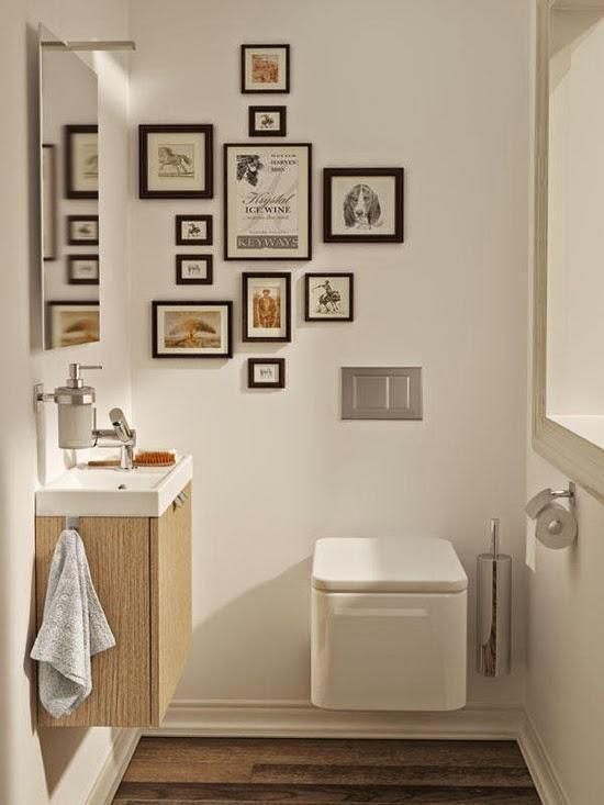 Saca el máximo partido a tu baño pequeño - decoracion baos pequeos