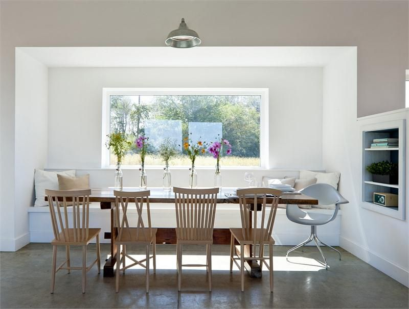 Open Contemporary Dining Room By Stephanie Horowitz On