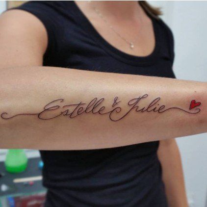 Popsugar Family Name Tattoos For Moms Daughters Name Tattoo Tattoos For Kids