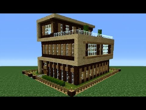 Minecraft Xbox 360 Modern House Tutorial