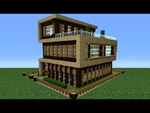 Minecraft Xbox 360: Modern House Tutorial | minecraft +