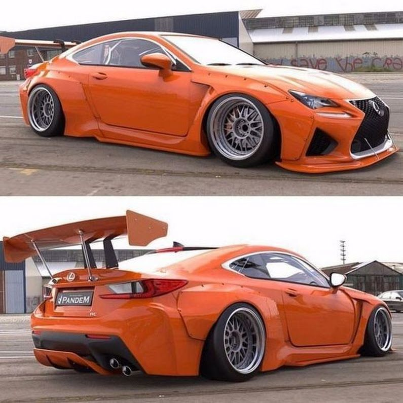 Bugatti Veyron Spoiler: PANDEM LEXUS RC F - Dmitry Dmitrov - Google+