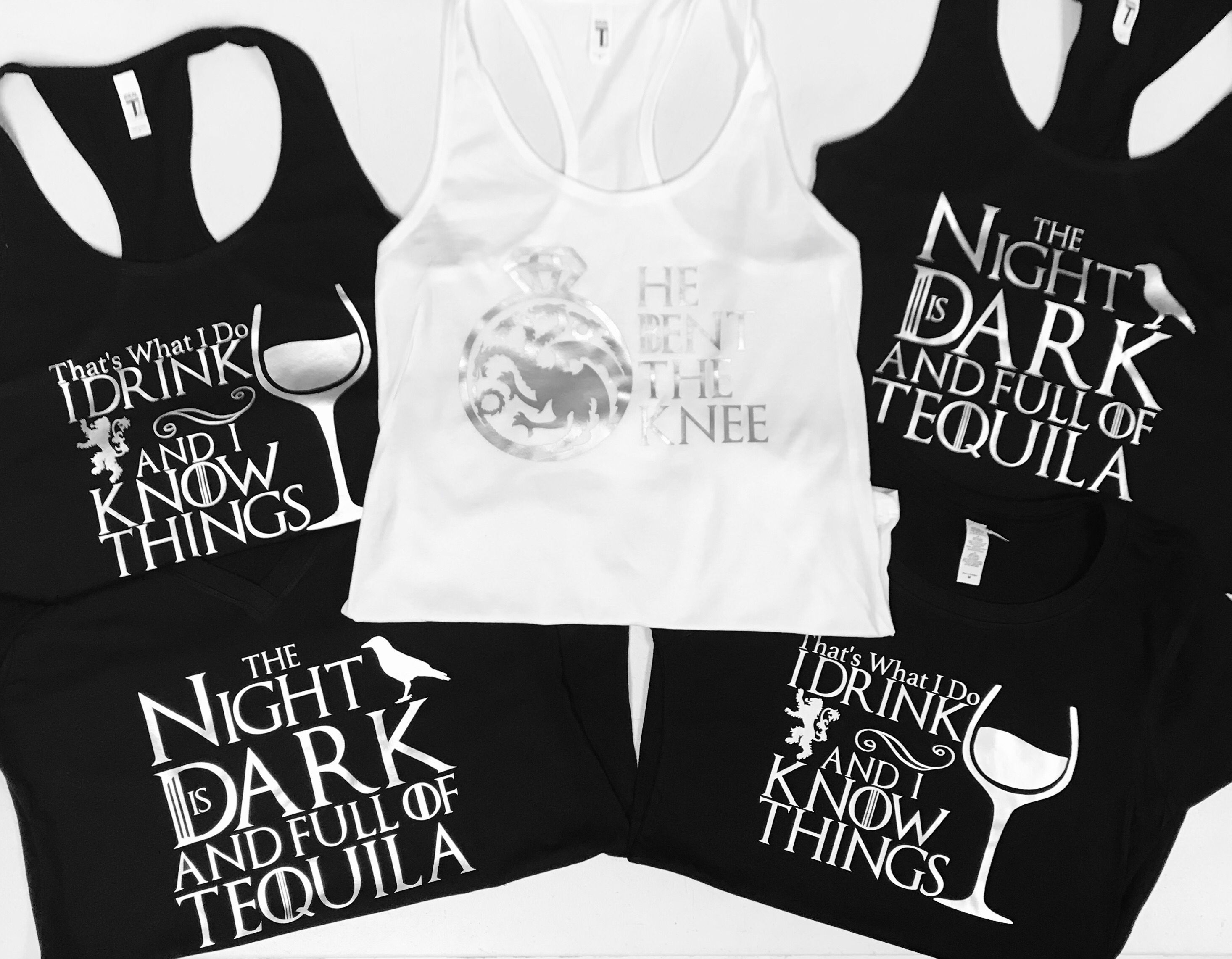 87cb8c486 Game of thrones bachelorette shirts/tanktops/vnecks! Check out our Etsy shop  to order your GoT gear today!