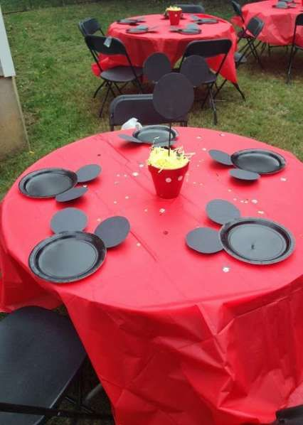 56+ Ideas party table baby mickey mouse #mickeymousebirthdaypartyideas1st