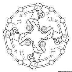 Mandala Ausmalbild Fussball Ausmalbilder Mandala Ausmalbilder Kinder Ausmalbilder Fussball