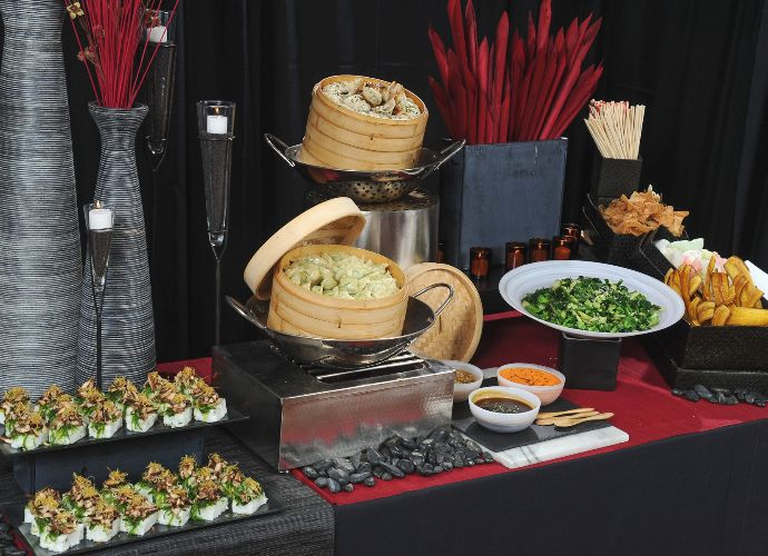 Exquisite Chinese Catering Wedding Buffet Food Chinese Food Catering Chinese Food Buffet