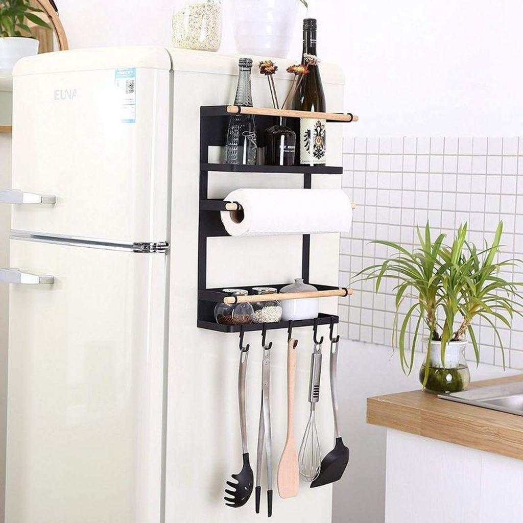 50 Lovely Kitchen Rack Design Ideas For