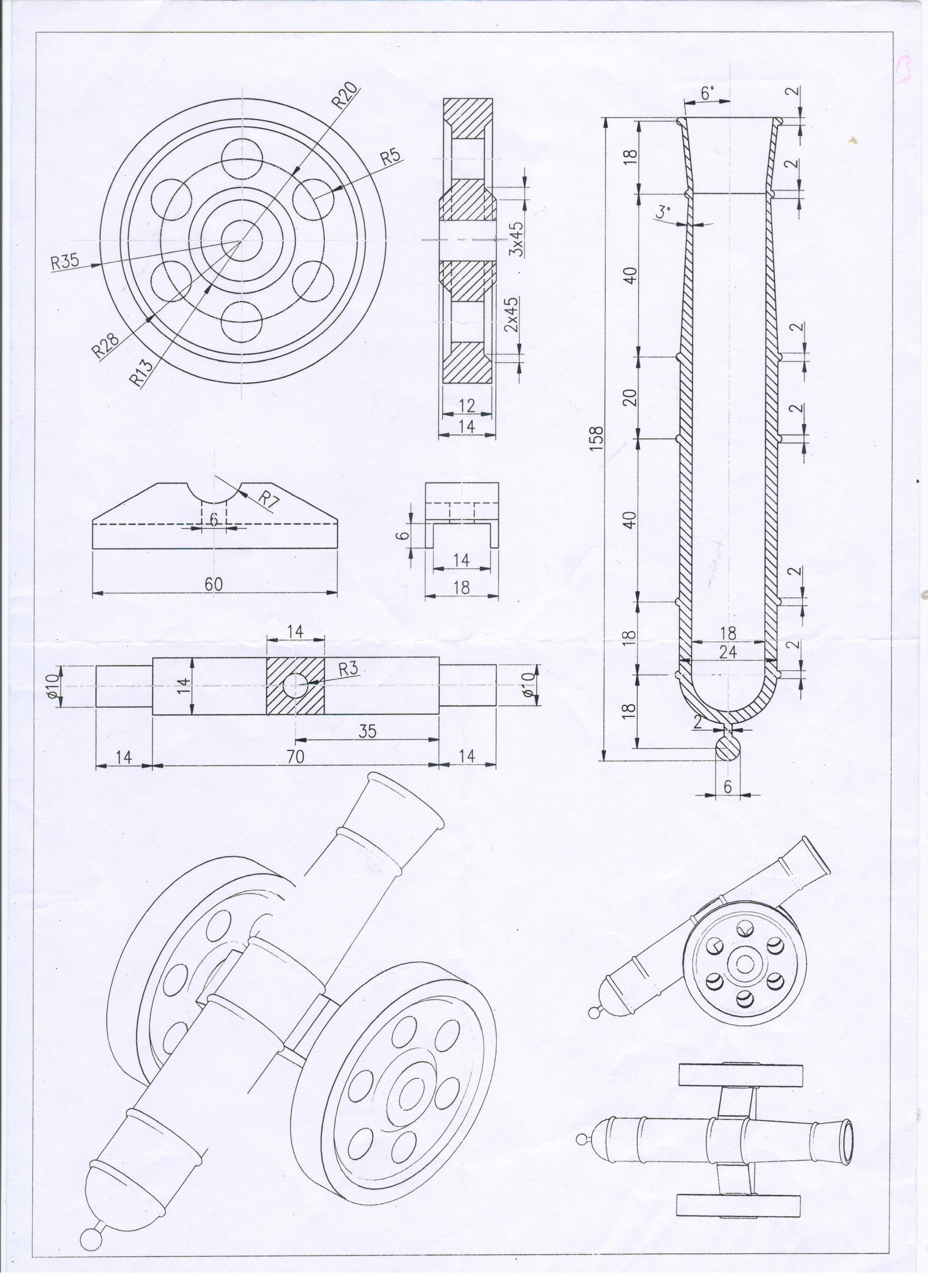 Mini cannon | wielding & metal projects in 2019 | Industrial