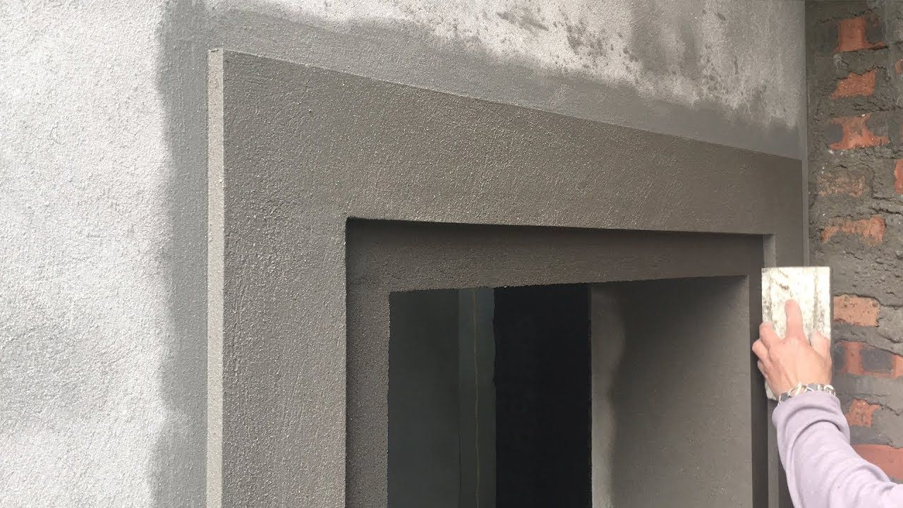 Beautiful Construction Beautiful Windows Rendering Sand And Cement Ste Cement Steps Plaster Ceiling Design Beautiful Windows