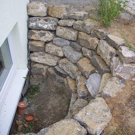 Lichthof aus natursteinen #backyardremodel