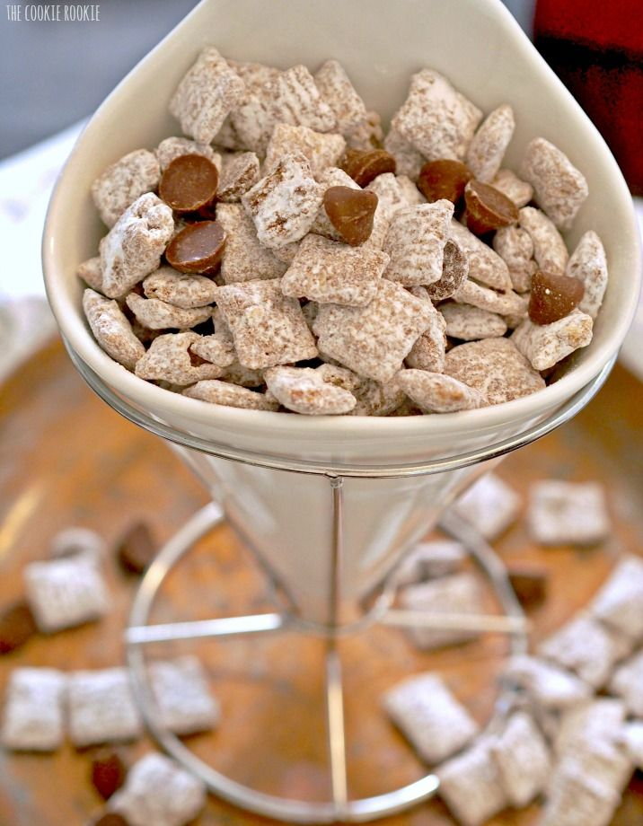 Salted Caramel Puppy Chow The Best Stuff Ever The Cookie