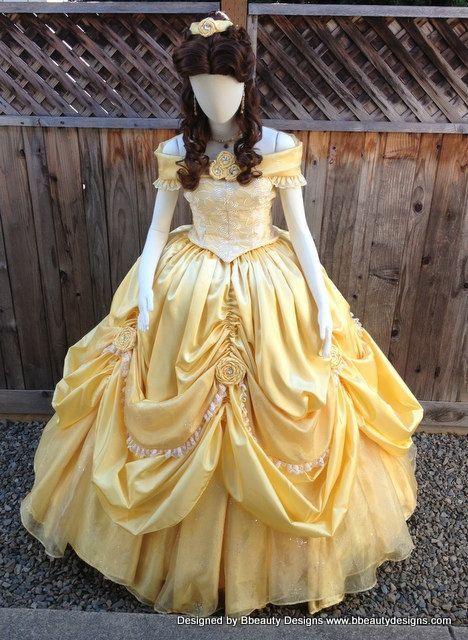 belle disney costume - Google Search | Halloween Ideas ...