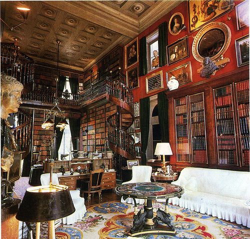 Victorian Library Room: Library Study Room
