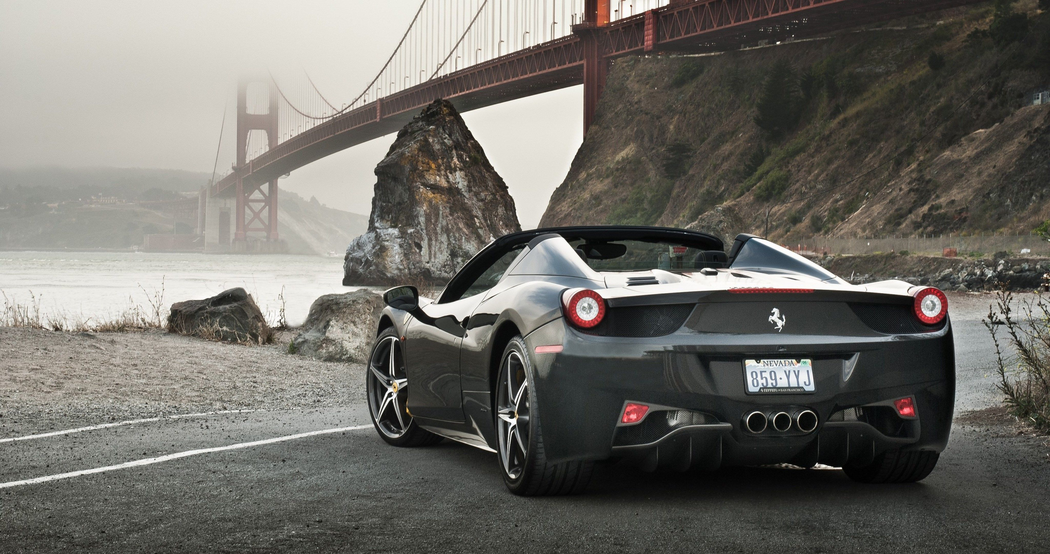 Ferrari 458 Spider Supercar 4k Ultra Hd Wallpaper Ferrari 458