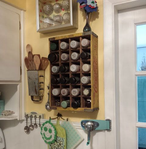 Small Kitchen Organizing Ideas Crate and Grater Storage Units