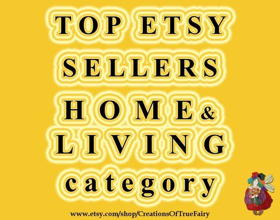 Top Etsy sellers in HOME & LIVING category Top selling home and living shops…