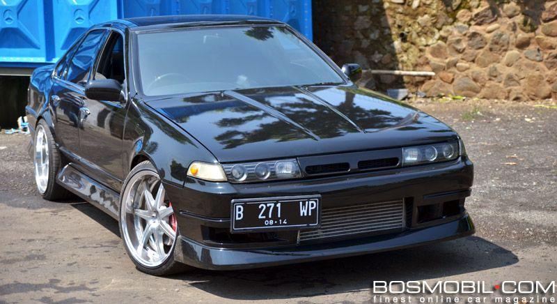 Modifikasi Nissan Cefiro : Powered By 2JZ-GTE Engine