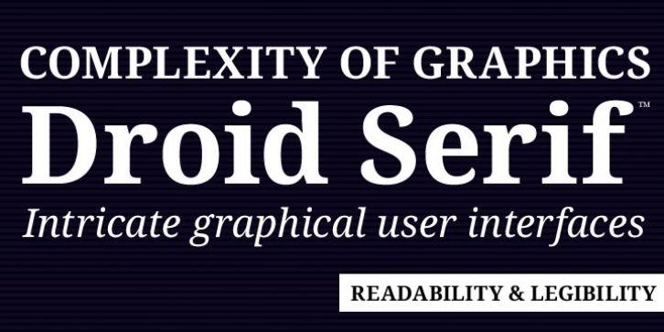 Droid Serif Pro™ font download   Fonts   Wedding invitation fonts