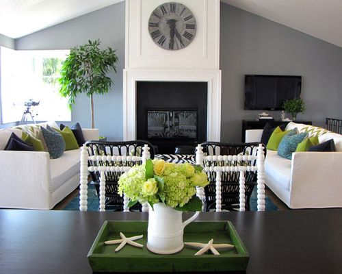 Stylish Blue And Grey Living Room Gray Home Design Ideas Pictures Remodel Decor