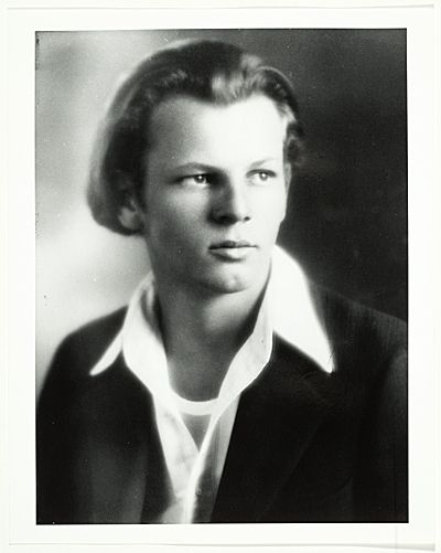 Citation: Portrait of Jackson Pollock, ca. 1928 / unidentified photographer. Jackson Pollock and Lee Krasner papers, Archives of American Art, Smithsonian Institution.