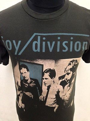 New vintage style 80s Joy Division goth indie mod band t-shirt size XS S M L