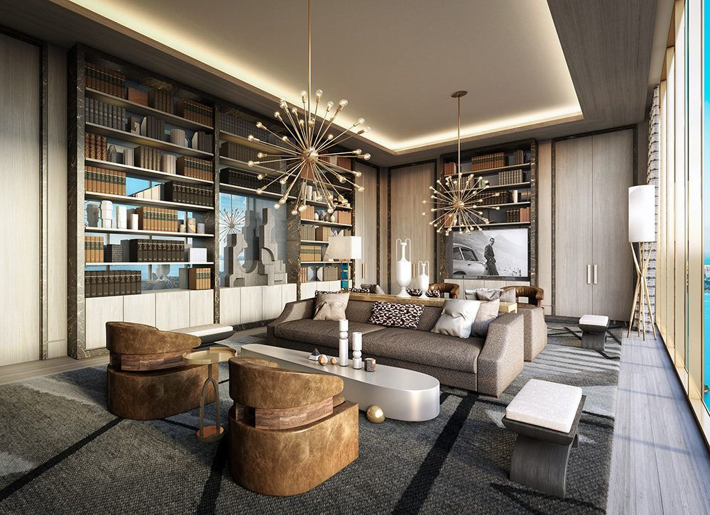 New Renderings Highlight Elysee Miami S Interiors By Jean Louis
