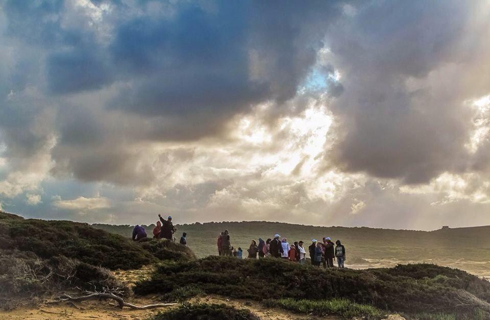 "Randonnée 01 novembre 2016 ""Cap Blanc"" Tunisie"