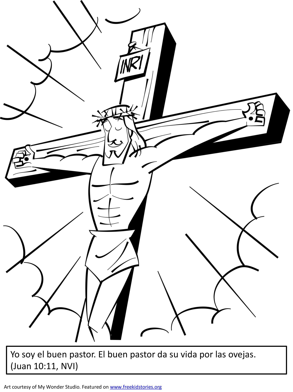 Paginas para pintar con versículos de la Biblia sobre la Pascua ...