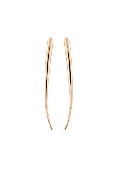 JETT EARRINGS - ROSE GOLD http://www.maria-black.com