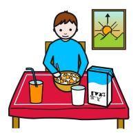 tomar o pequeno-almoço | Estimular el lenguaje, Orientacion ...