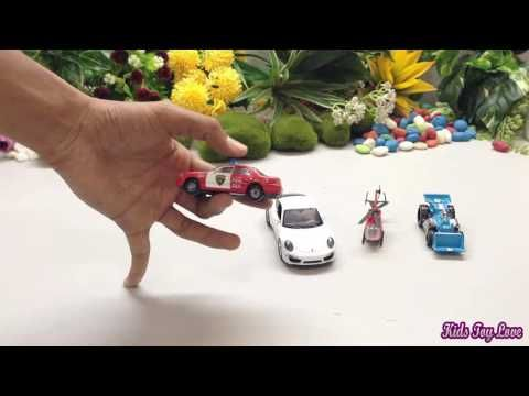 Sport Car Toys for kids | Toy Car Crashing | Toy cars | Cars for kids | ...