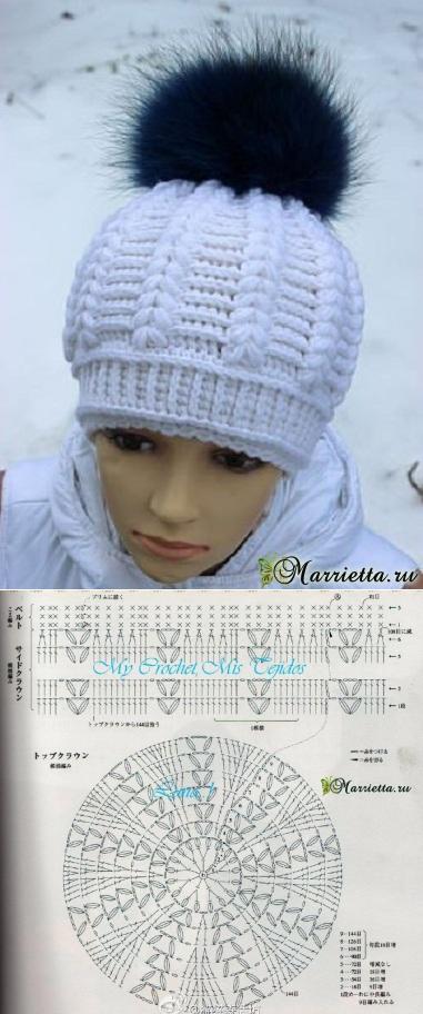marrietta.ru #crochetedhats