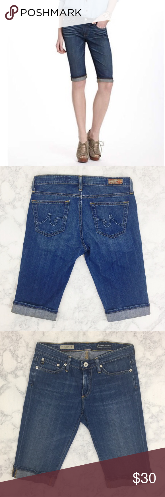 Anthropologie AG Malibu Crop Pant Excellent used condition. AG Adriano Goldschmied Jeans Ankle & Cropped