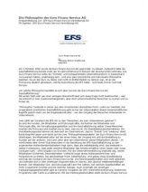 Die Unternehmenskultur der Euro-Finanz-Service AG beruht auf unumstößliche Werte, die sich in der Souveränität und Unantastbarkeit der Mensc...