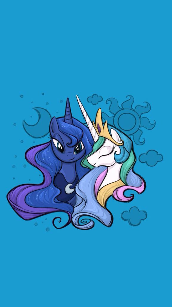 Mlp princess luna and princess celestia fan art cutie - My little pony cutie mark wallpaper ...