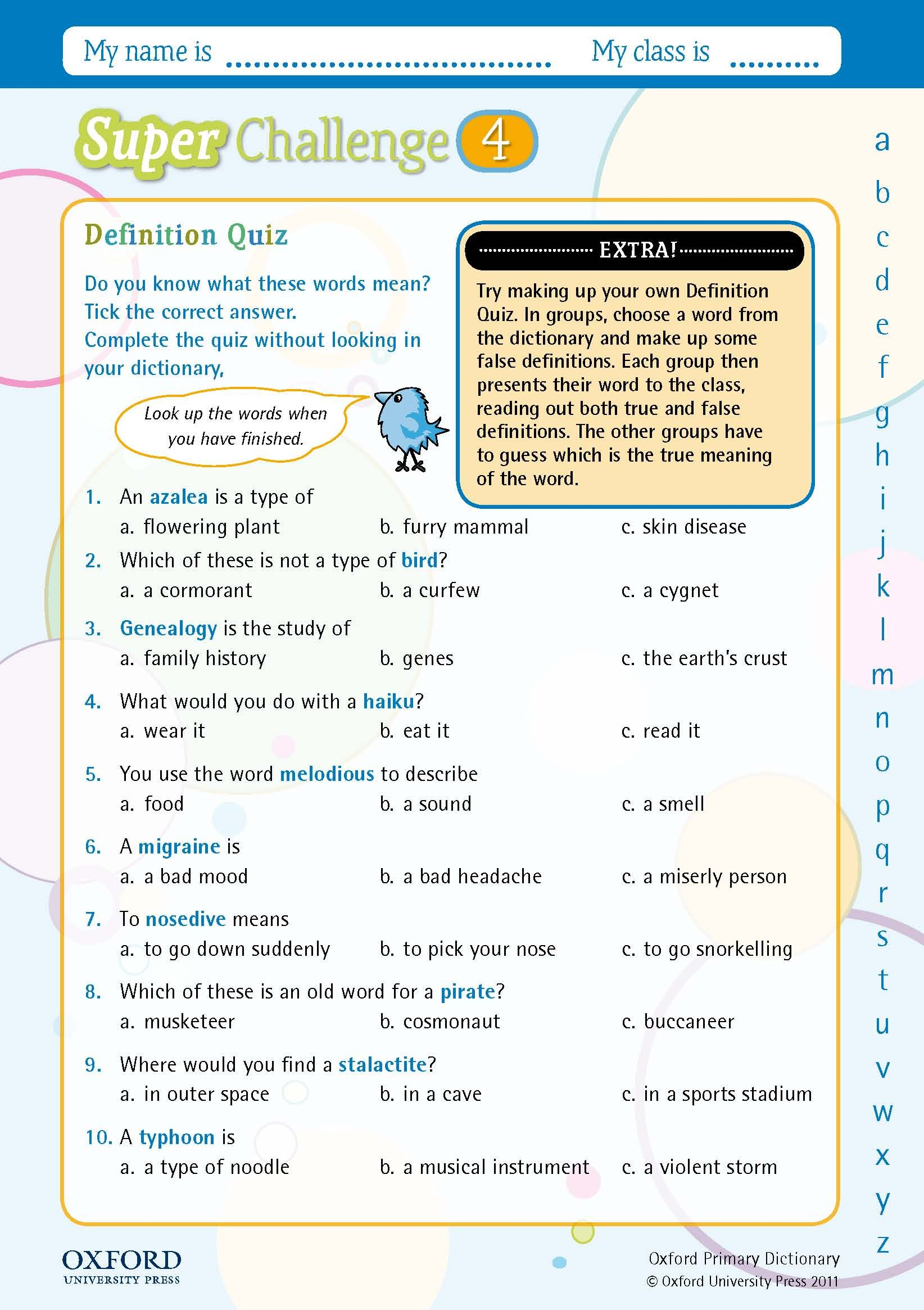 Download Your Free Oxford Primary Dictionary Super
