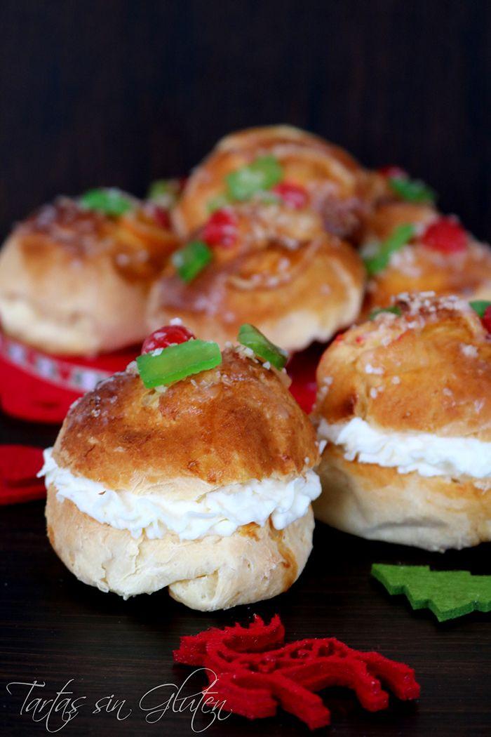 Hoy Pequenos Roscones De Reyes Ideales Para Una Merienda La Receta Sencilla Practicamente Igual Que Ensaimadas Receta Videos De Comida Recetas De Comida