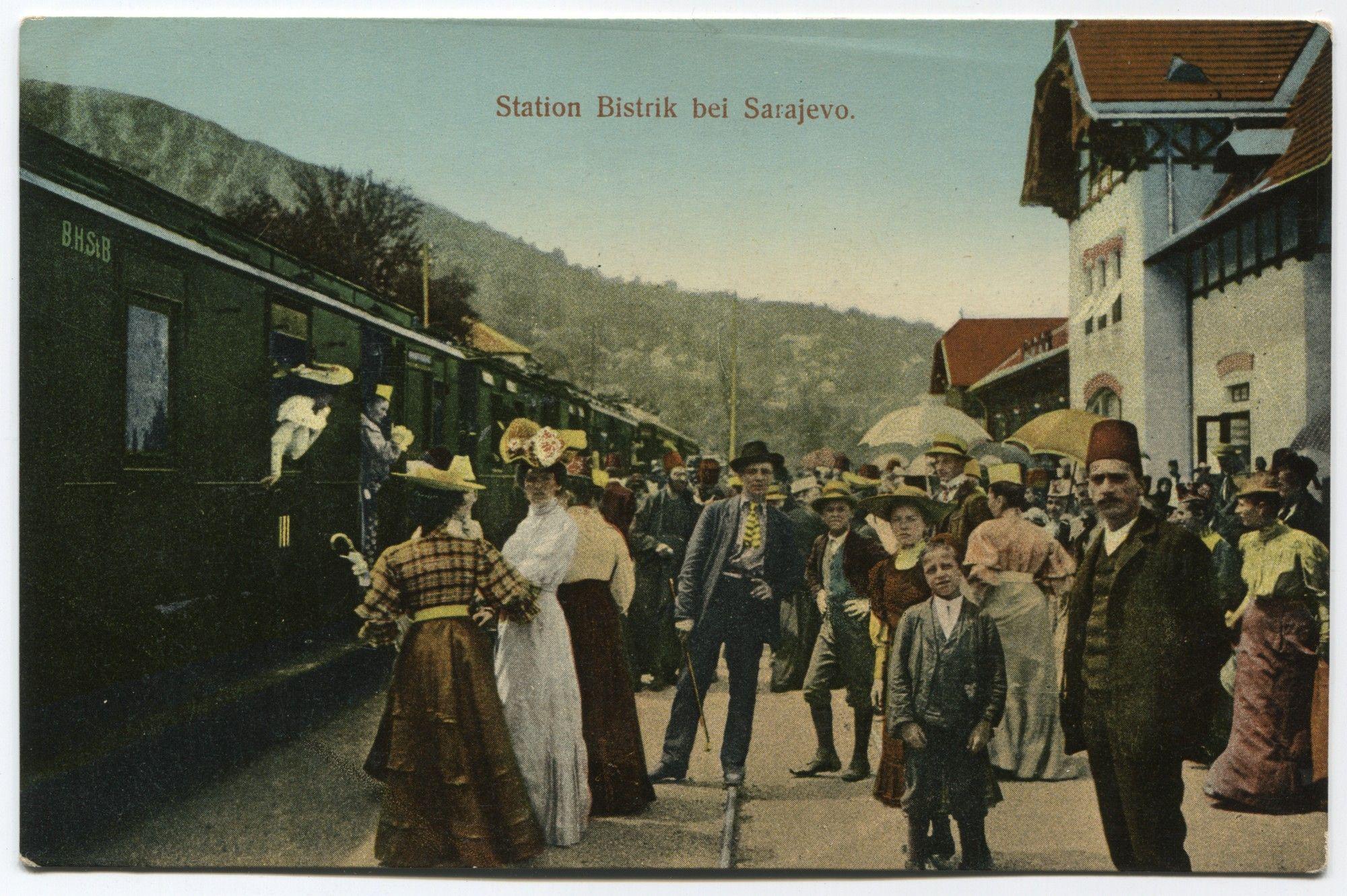 Railway Station Bistrik Near Sarajevo C Museum Of City Of Sarajevo Sarajevo Bosnia Gender Relations