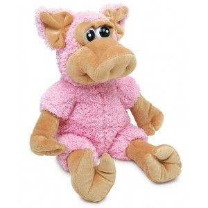Deze mooie knuffel in de vorm van een varken, heeft een zacht lichaam waarmee je hem dicht tegen je aan kan drukken. In zijn pootjes zitten kleine, plastic bolletjes waardoor dit snoezige varken lekker vasthoudt. Dankzij haar vriendelijke lach en trouwe ogen krijgt Susi een speciaal plaatsje op de slaapkamer of in bed.