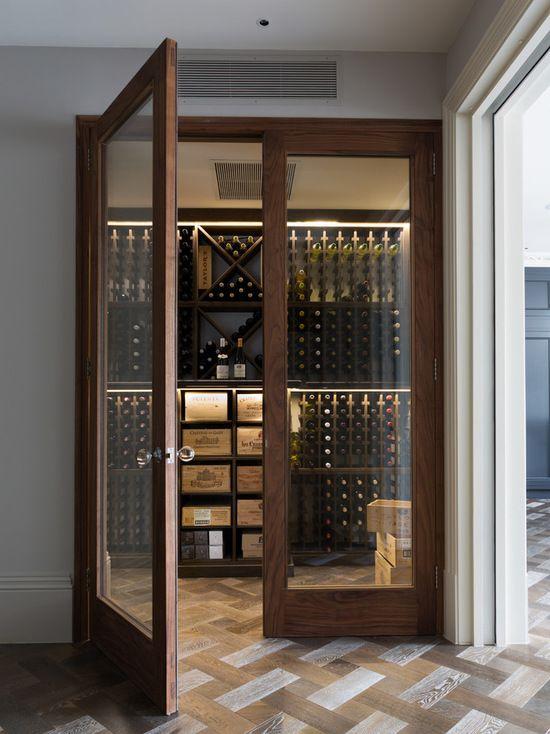 Modern Wine Cellar Design Ideas, Remodels  Photos Homes