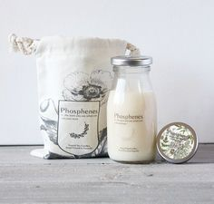Inartisan milk bottle soy candle