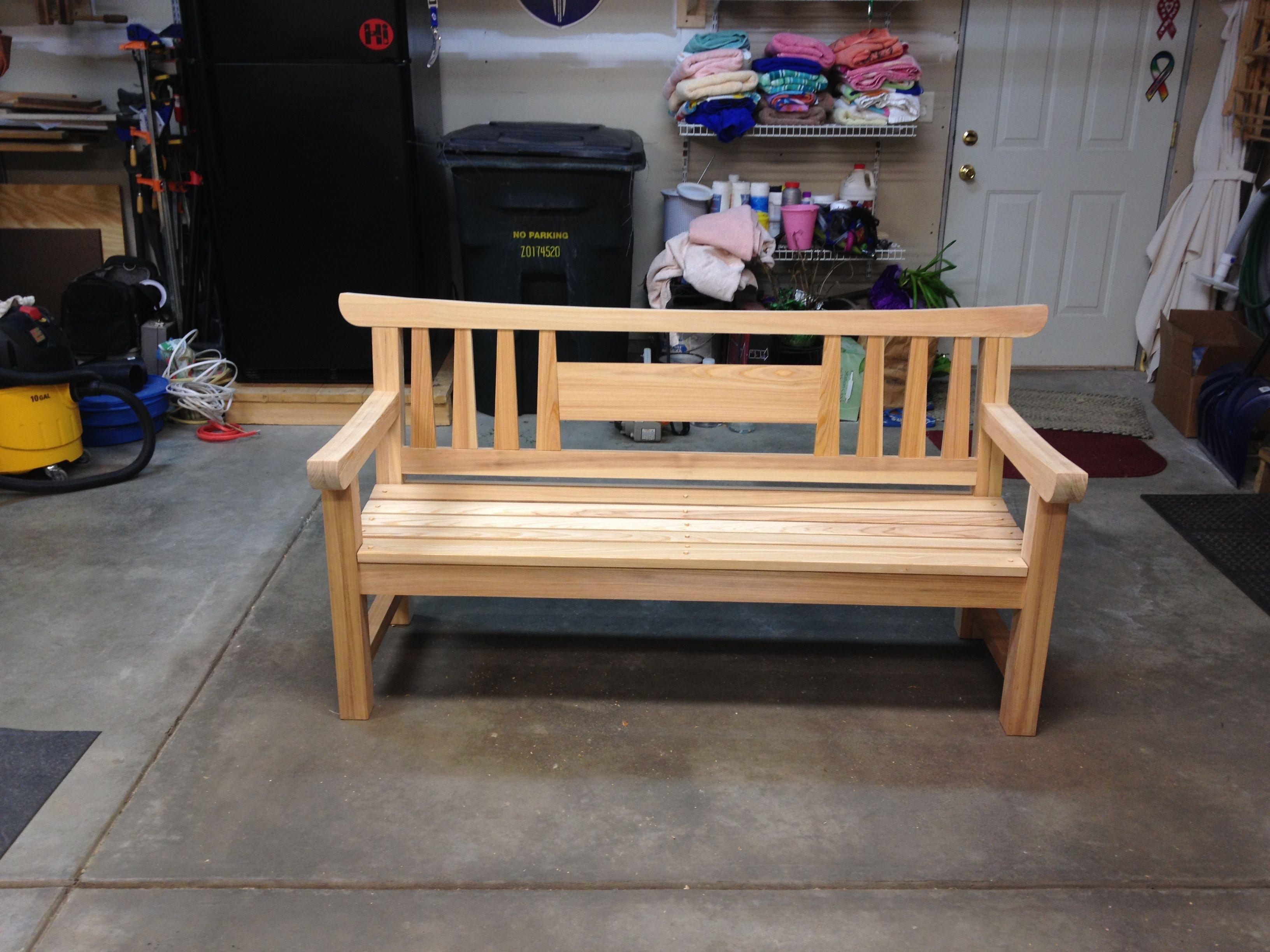 Japanese Garden Bench   Readeru0027s Gallery   Fine Woodworking